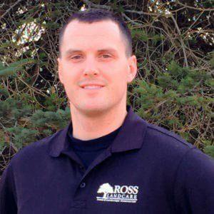 Eric Ross - owner of Ross Landcare, LLC